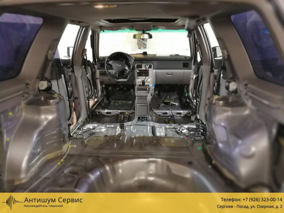 Шумоизоляция пола Subaru Forester (Субару Форестер)
