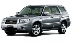 Шумоизоляция Subaru Forester (Субару Форестер)