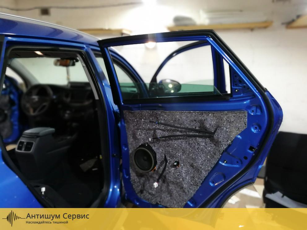 Шумоизоляция дверей Hyundai Tucson 3 (Хендай Туссан)