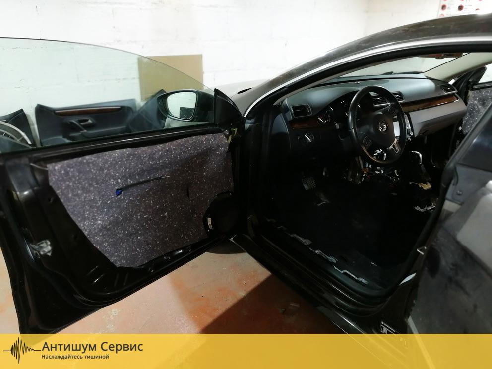 Шумоизоляция дверей Volkswagen Passat CC (Фольксваген Пассат СС)