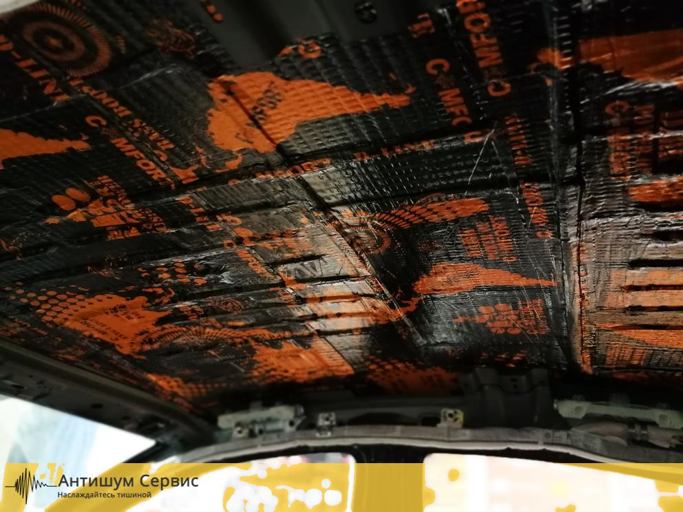Шумоизоялция крыши Skoda Octavia A5 (Шкода Октавия А5))