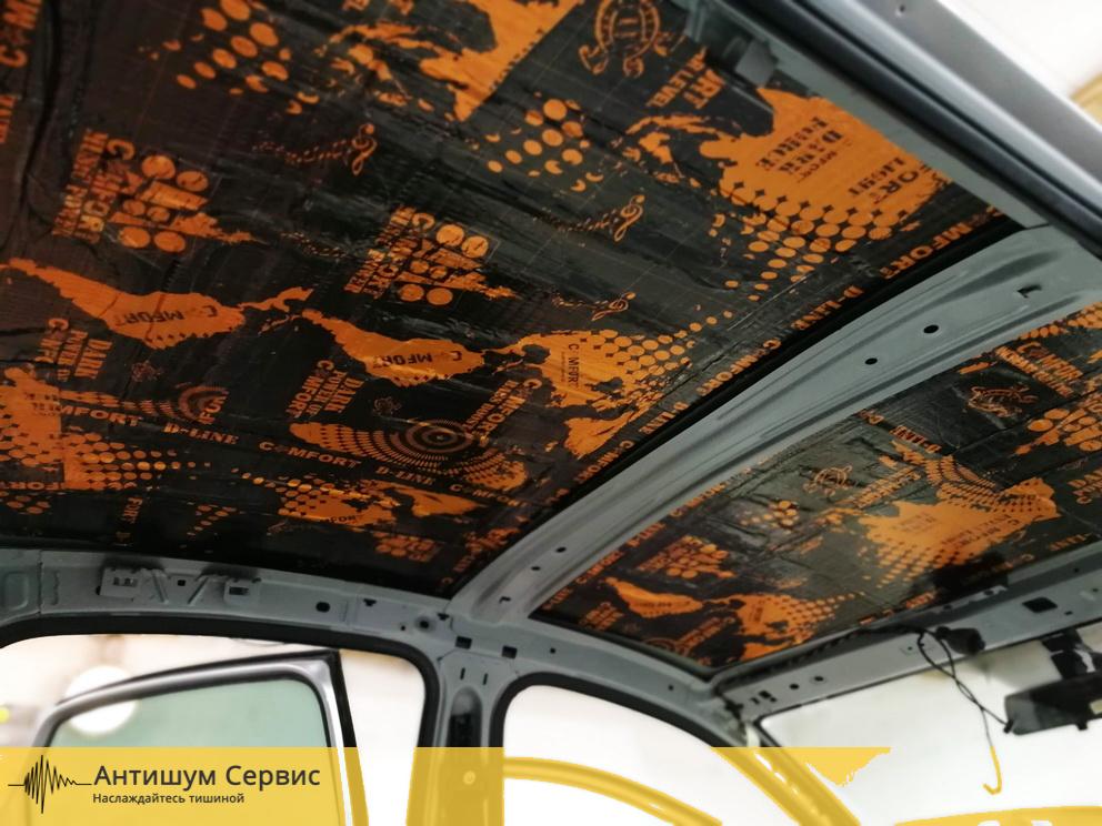 Шумоизоляция крыши Volkswagen Polo (Фольксваген Поло)