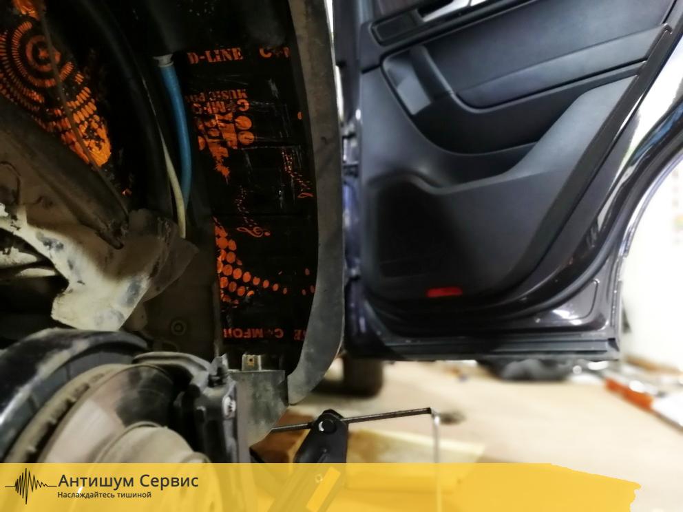 Шумоизоляция арок Volkswagen Touareg 2 (Фольксваген Туарег 2)