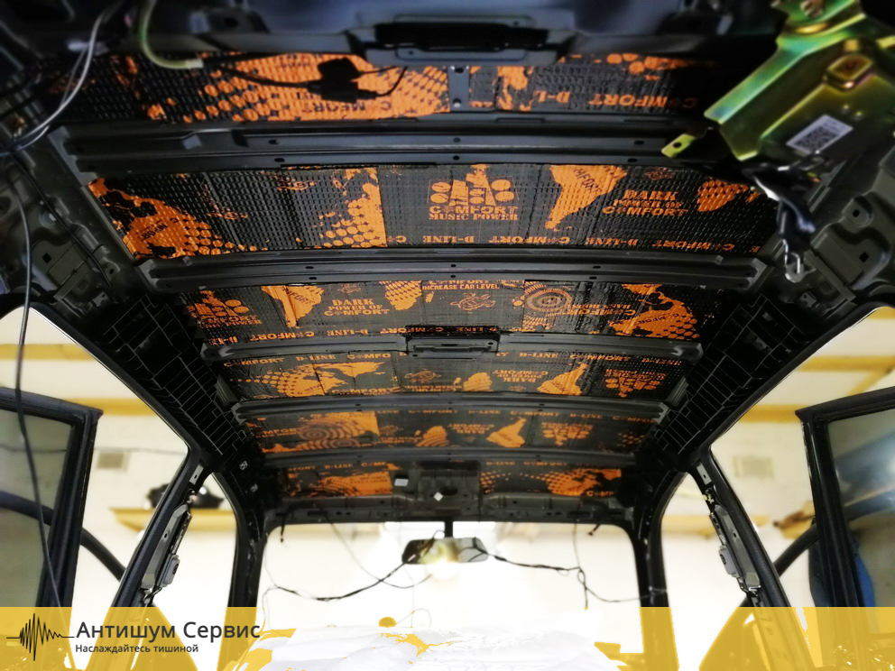 Шумоизоляция крыши Lifan X60 (Лифан Х60)