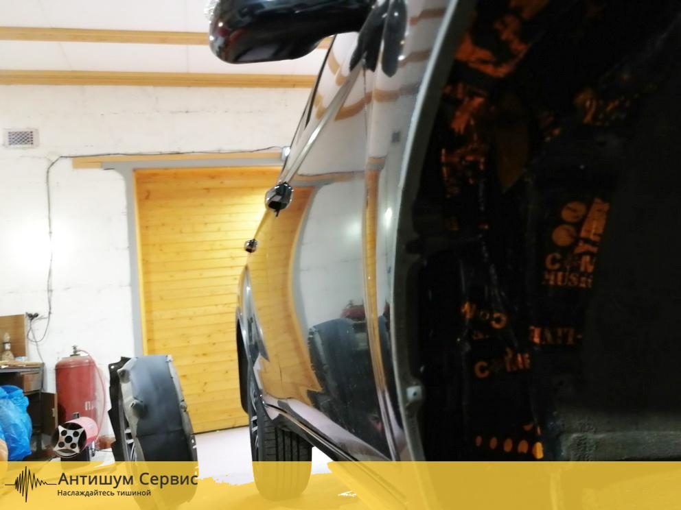 Шумоизоляция колесных арок Lifan X60 (Лифан Х60)