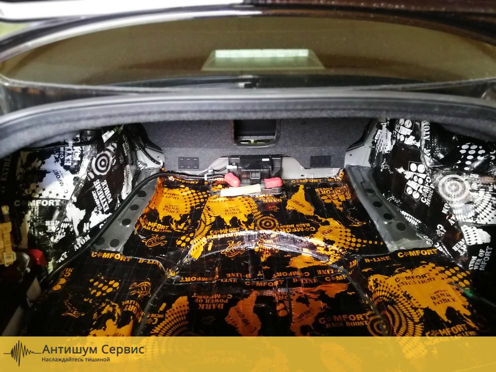 Шумоизоляция багажника Infiniti Q50 (Инфинити КУ 50 )