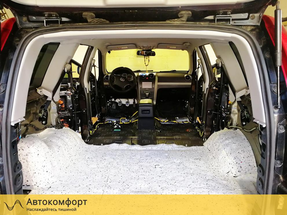 Шумоизоляция багажника Great Wall Hover H5 (Грейт Вол Ховер Н5)
