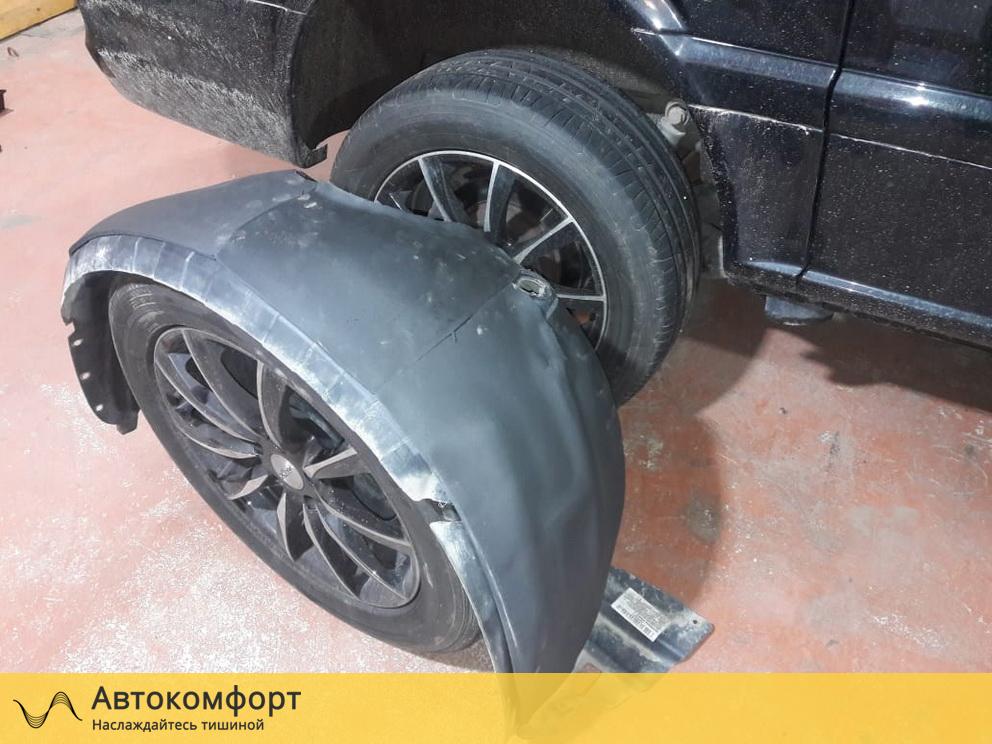 Шумоизоляция подкрылок (локеров) Mercedes Benz Viano / Vito W639 (Вито / Виано)