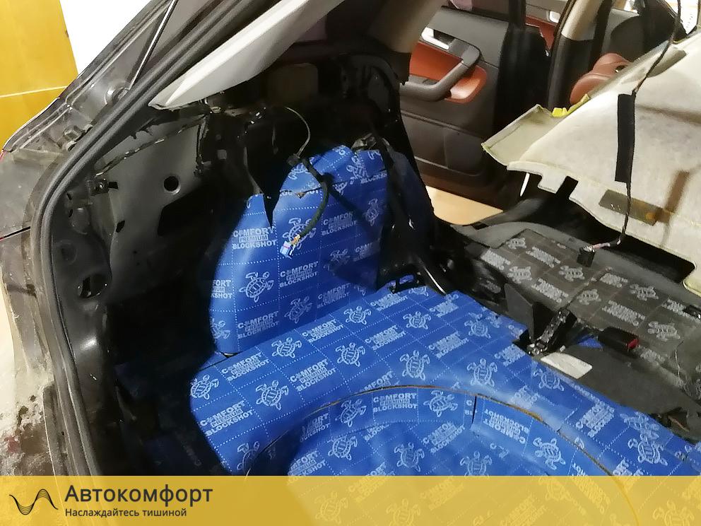 Звукоизоляция багажника Audi A3 8P