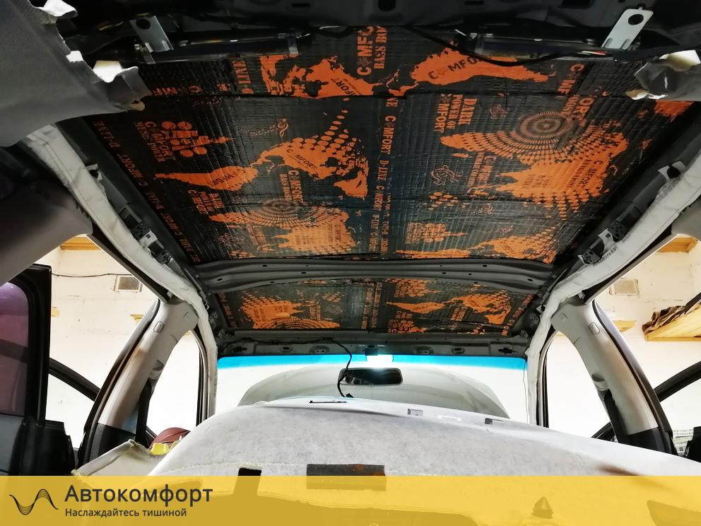 Звукоизоляция крыши Audi A3
