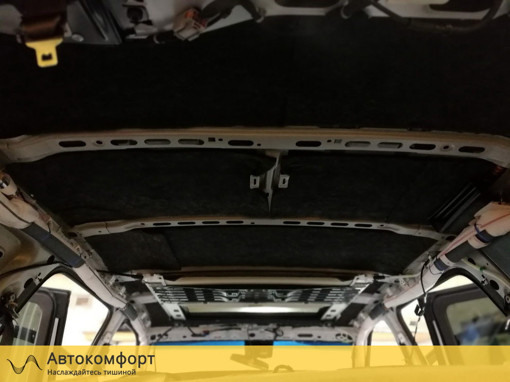 Шумоизоляция крыши Chevrolet Tahoe 4 K2UXX (Шевроле Тахо 4)
