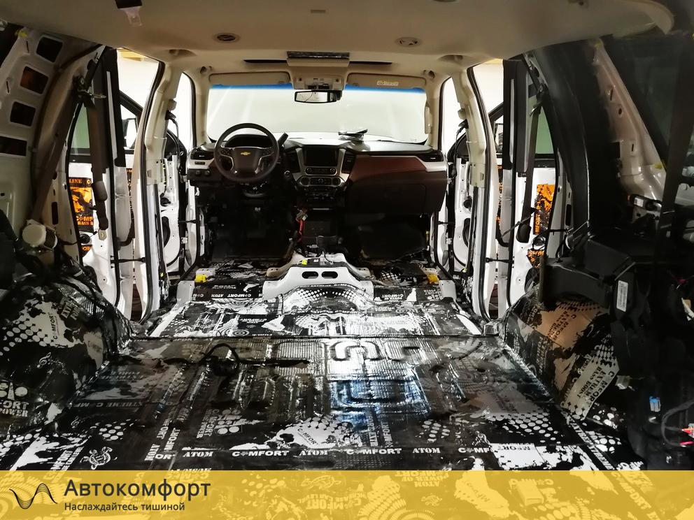 Шумоизоляция багажника Chevrolet Tahoe 4 K2UXX (Шевроле Тахо 4)