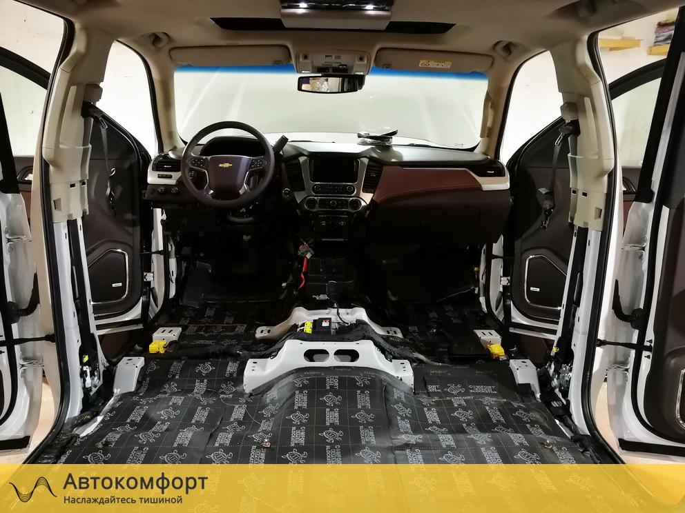 Шумоизоляция пола Chevrolet Tahoe 4 K2UXX (Шевроле Тахо 4)