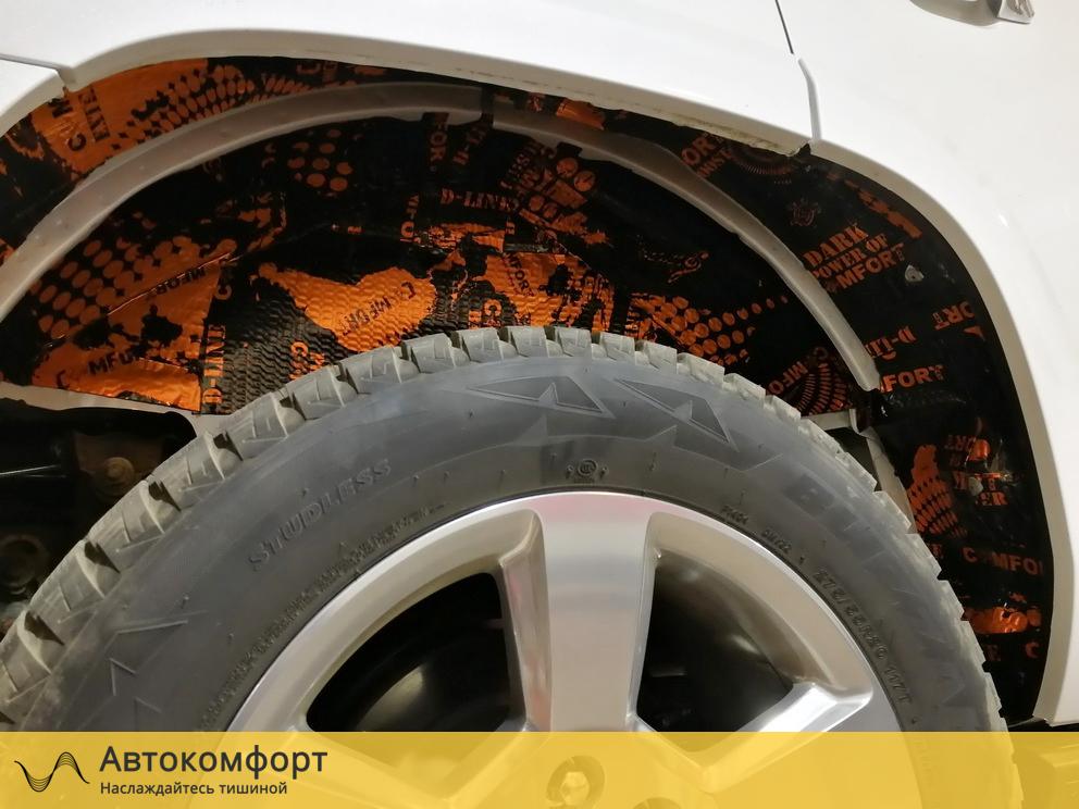 Шумоизоляция арок Chevrolet Tahoe 4 K2UXX (Шевроле Тахо 4)