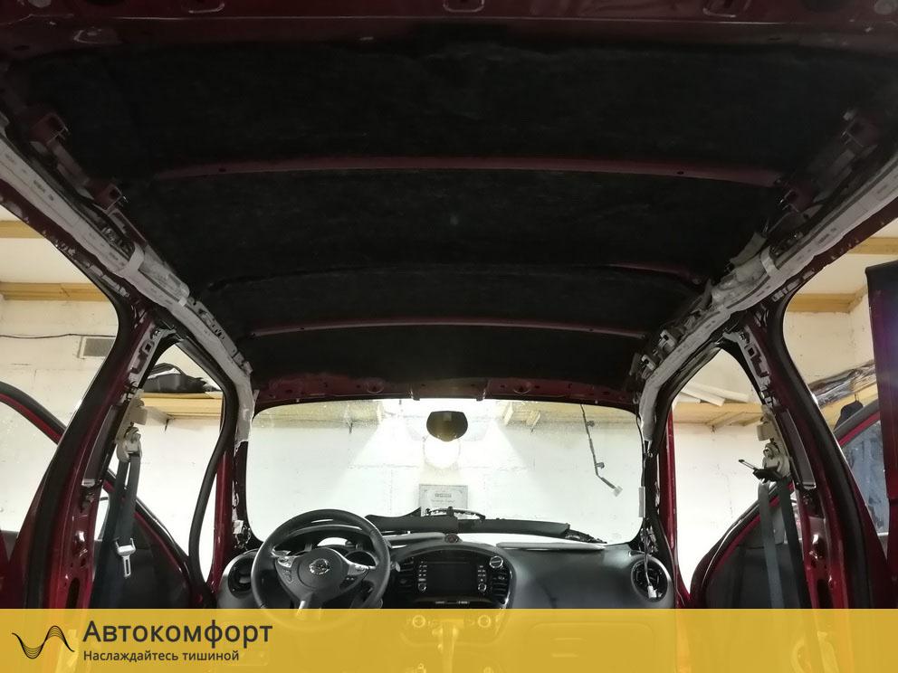Шумоизоляция крыши Nissan Juke (Ниссан Жук)