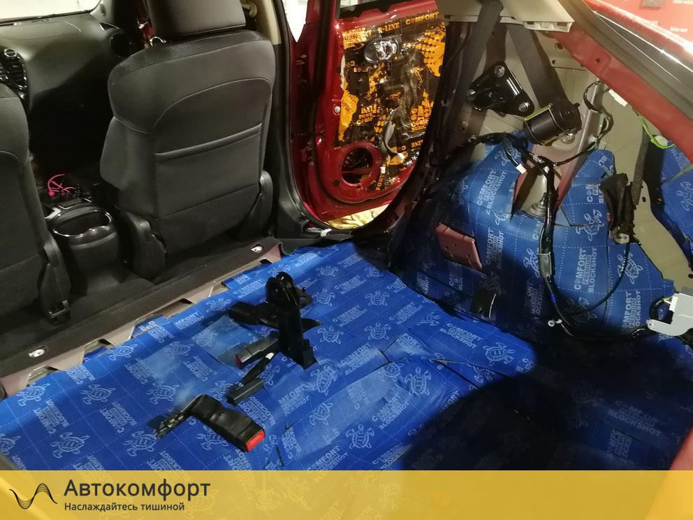 Шумоизоляция багажника Nissan Juke (Ниссан Жук)