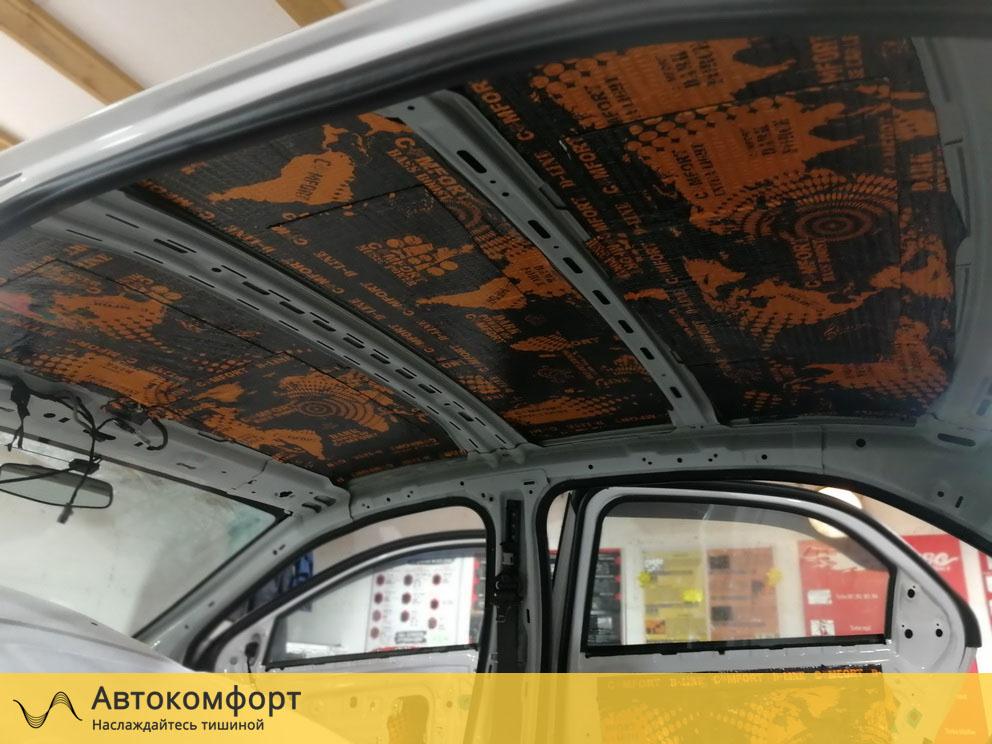 Шумоизоляция крыши Ravon R4 (Равон Р4)