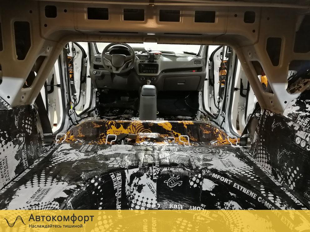 Шумоизоляция багажника Ravon R4 (Равон Р4)