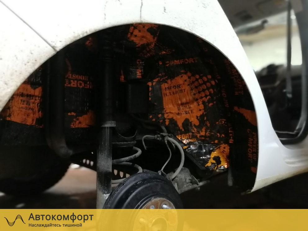 Шумоизоляция колесных арок Ravon R4 (Равон Р4)