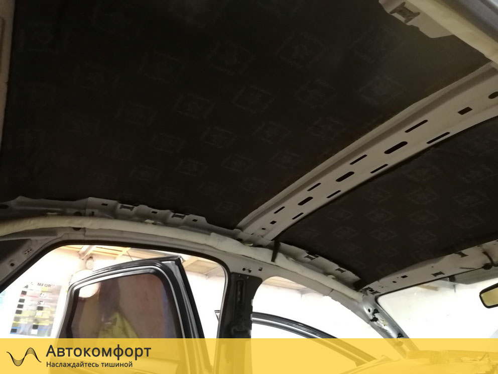 Шумоизоляция крыши Ford Mondeo 4 (Форд Мондео 4)