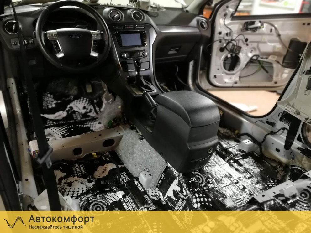 Шумоизоляция пола Ford Mondeo 4 (Форд Мондео 4)