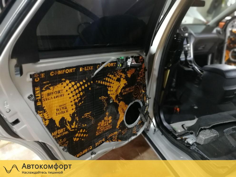 Шумоизоляция дверей Ford Mondeo 4 (Форд Мондео 4)