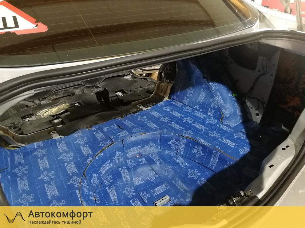 Шумоизоляция багажника Ford Mondeo 4 (Форд Мондео 4)