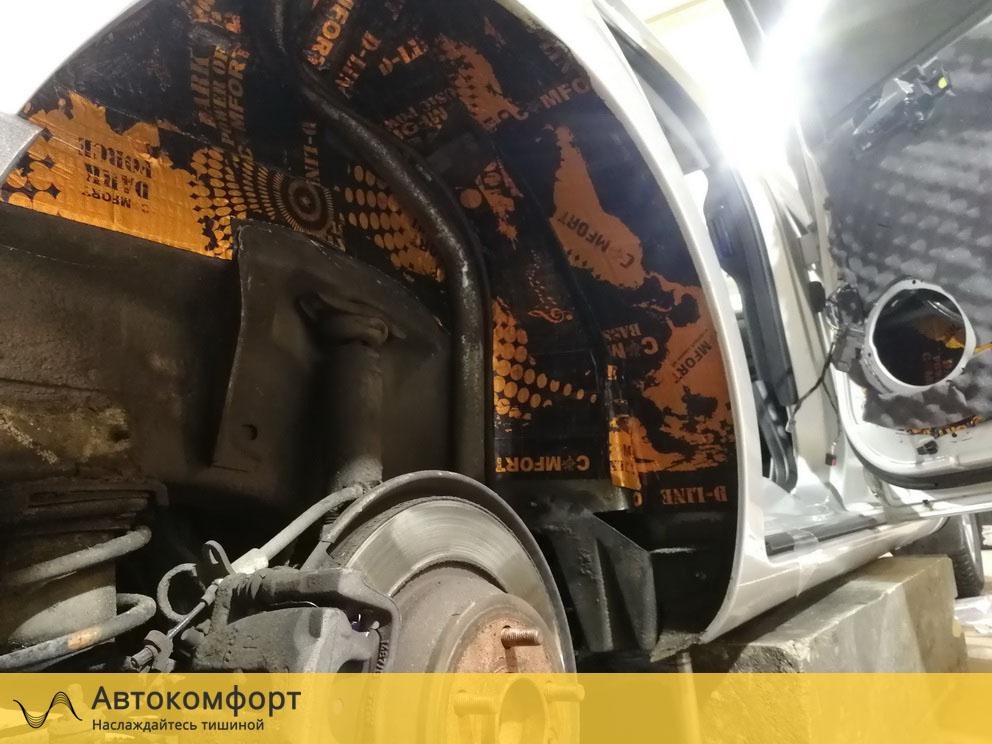 Шумоизоляция арок Ford Mondeo 4 (Форд Мондео 4)
