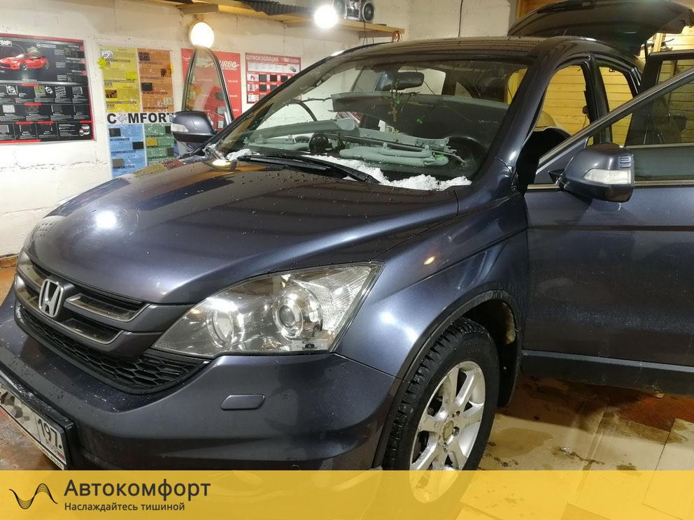 Шумоизоляция Honda CRV 3 (Хонда СРВ3)