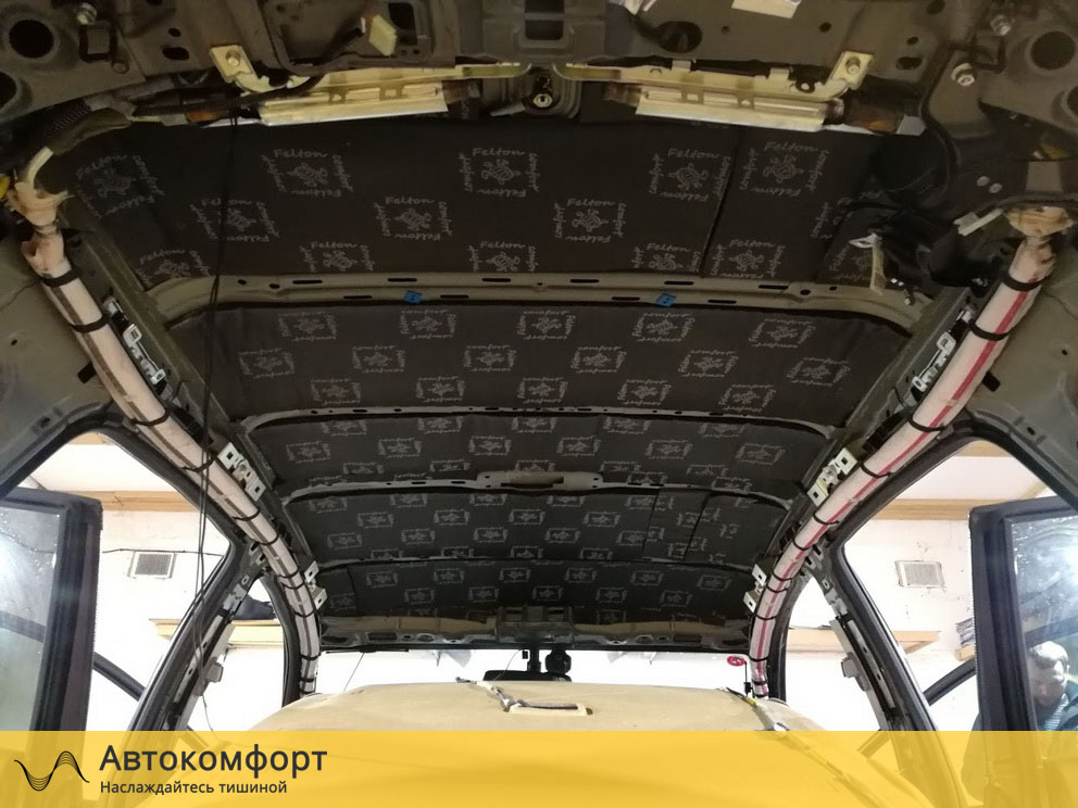 Шумоизоляция крыши Honda CRV 3 (Хонда СРВ3)