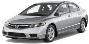 Шумоизоляция Honda Civic 4D (Хонда Цивик 4Д )