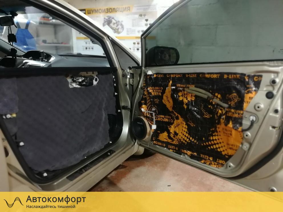 Шумоизоляция дверей Honda Civic 4D (Хонда Цивик 4Д )