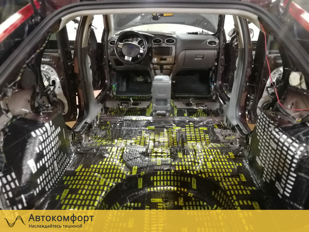 Шумоизоляция багажника Ford Focus 2 (Форд Фокус 2)