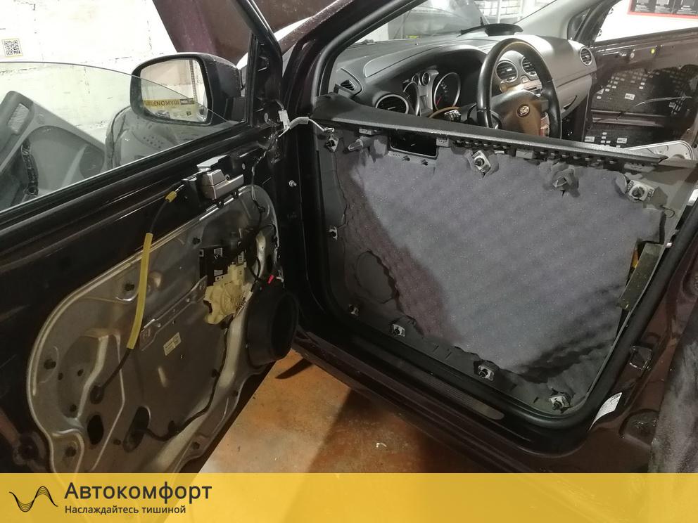 Шумоизоляция дверей Ford Focus 2 (Форд Фокус 2)