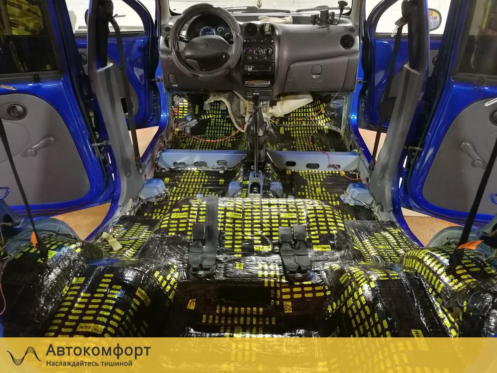 Шумоизоляция багажника Daewoo Matiz (Дэу Матиз)