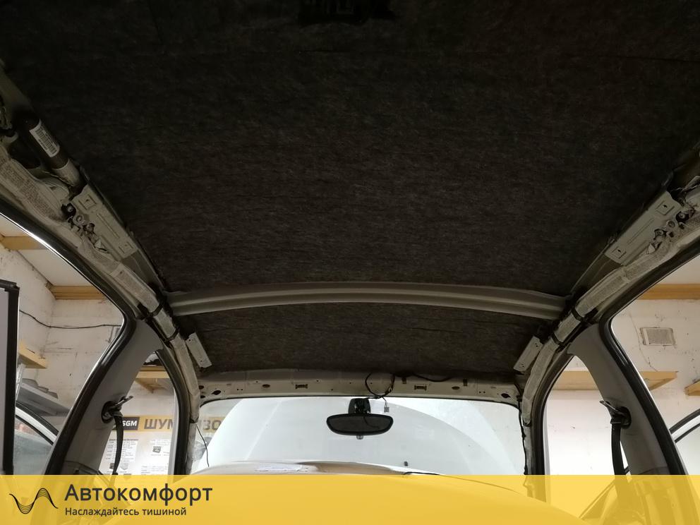 Шумоизоляция крыши BMW 1 series E87 (БМВ 1 серии Е87)
