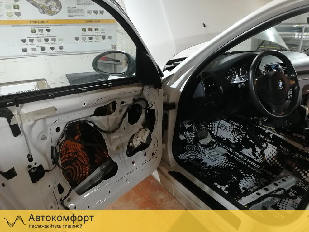 Шумоизоляция дверей BMW 1 series E87 (БМВ 1 серии Е87)