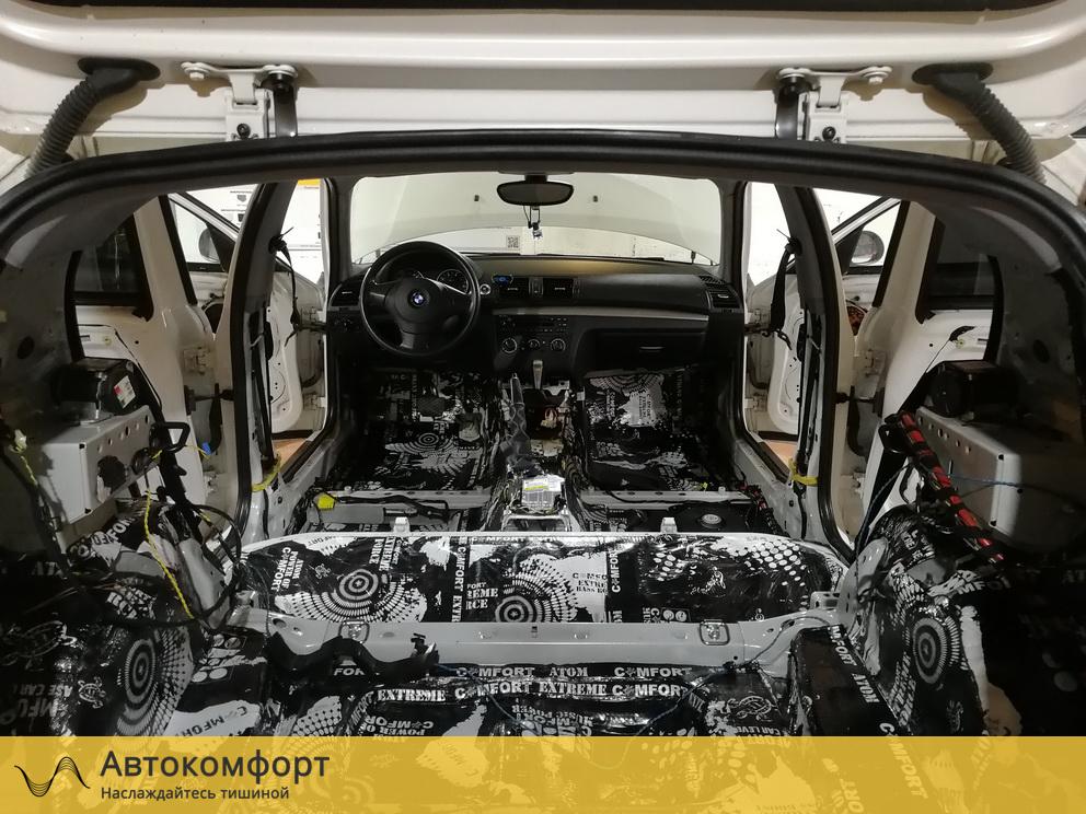 Шумоизоляция багажника BMW 1 series E87 (БМВ 1 серии Е87)