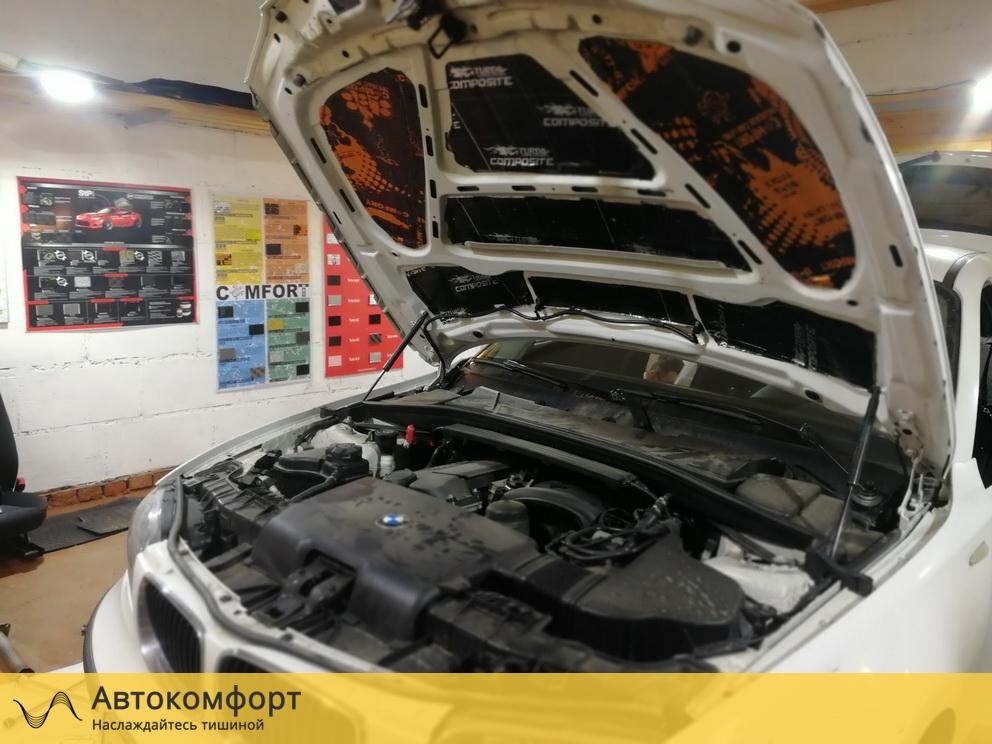 Шумоизоляция капота BMW 1 series E87 (БМВ 1 серии Е87)