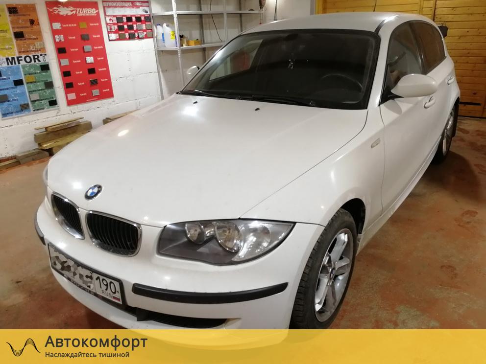 Шумоизоляция BMW 1 series E87 (БМВ 1 серии Е87)