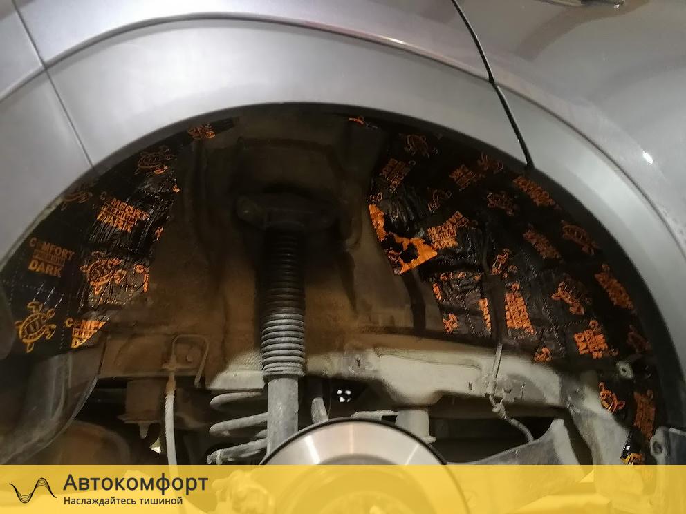Шумоизоляция колесных арок Infiniti Q50 (Инфинити КУ 50)
