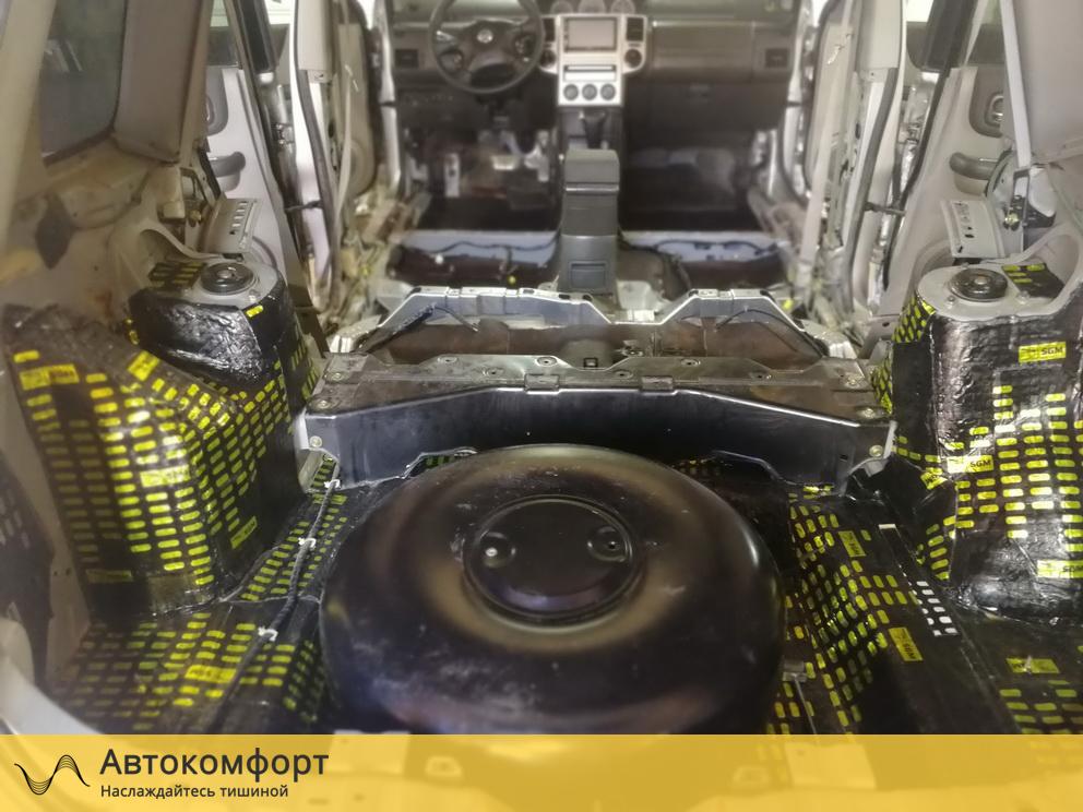 Шумоизоляция багажника Nissan X-Trail T31 (Ниссан Икс Трейл Т31)