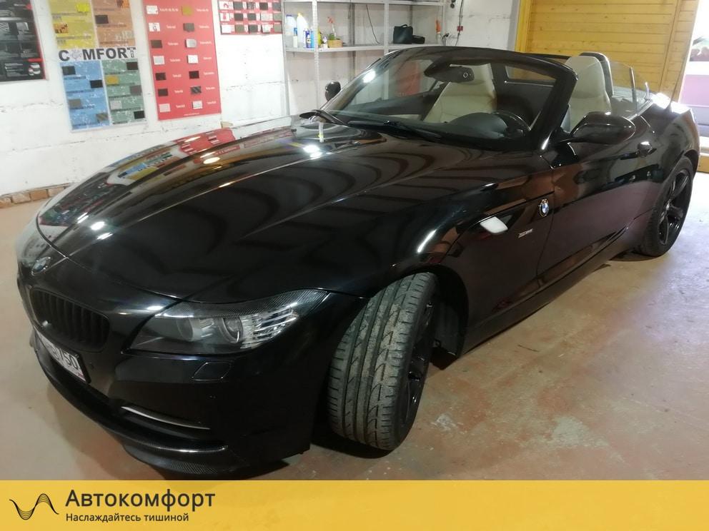 Шумоизоляция BMW Z4 E89 (БМВ Е89)