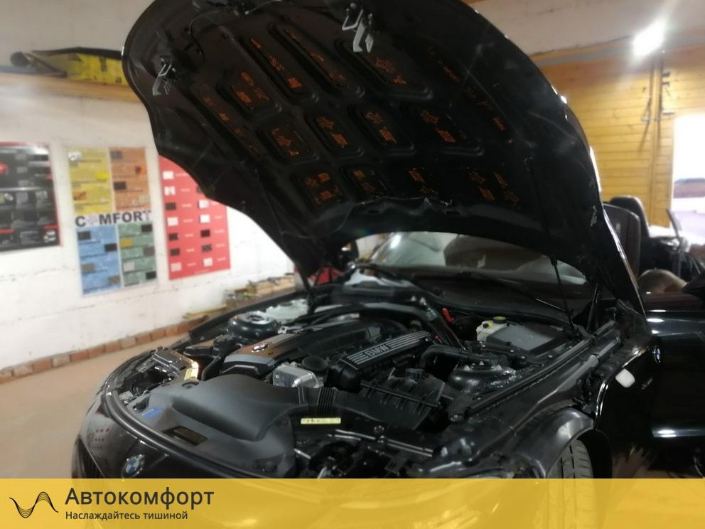 Шумоизоляция капота BMW Z4 E89 (БМВ Е89)