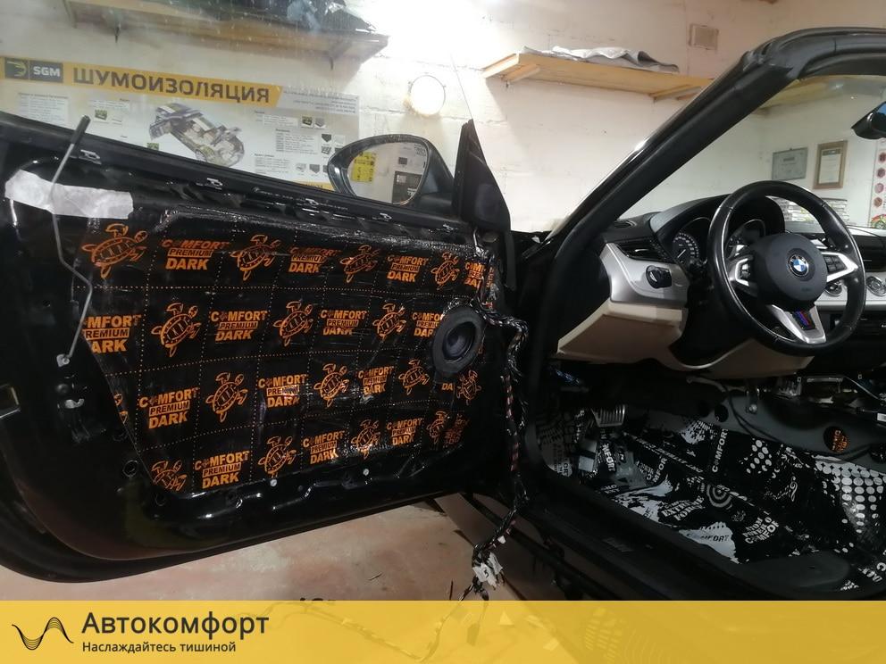 Шумоизоляция дверей BMW Z4 E89 (БМВ Е89)