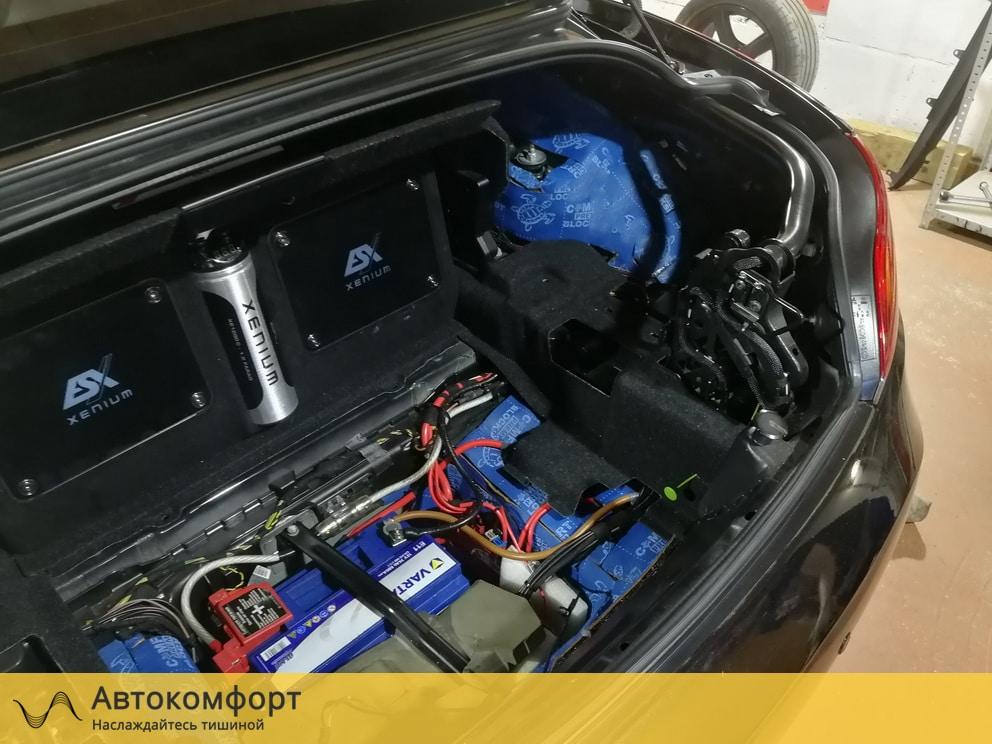 Шумоизоляция багажника BMW Z4 E89 (БМВ Е89)