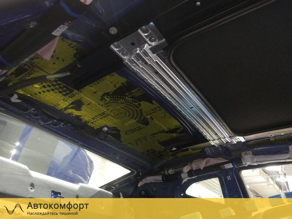 Шумоизоляция крыши (потолка) Chevrolet Camaro 2019 (Шевроле Камаро)