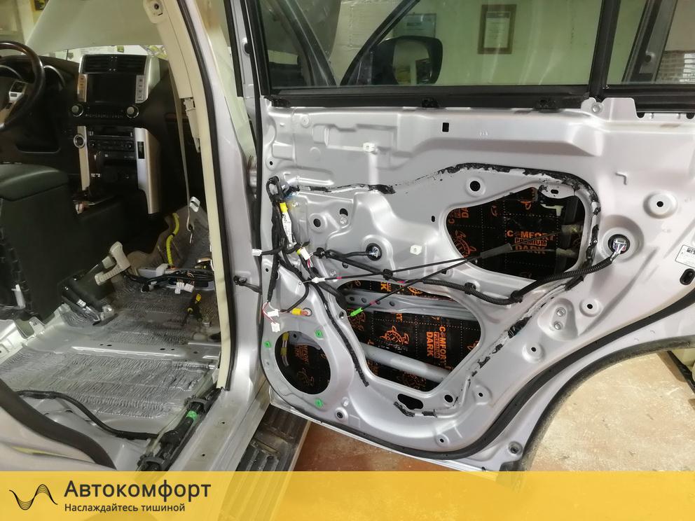 Шумоизоляция дверей Land Cruiser Prado 150 Дорестайлинг