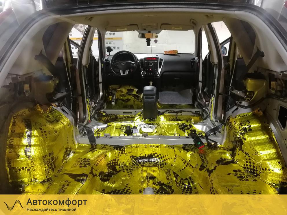 Шумоизоляция багажника Kia Ceed SW Универсал (Киа Сид СВ)