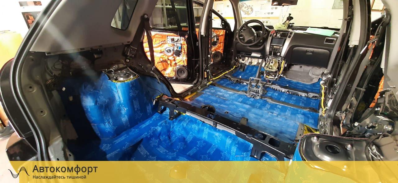 Шумоизоляция багажника Hyundai Tucson 1 (Туссан/Туксон)